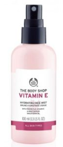 Body shop vitamin e face mist