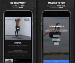 Freeletics Bodyweight Carmex Pia Seeberg Trening-apps